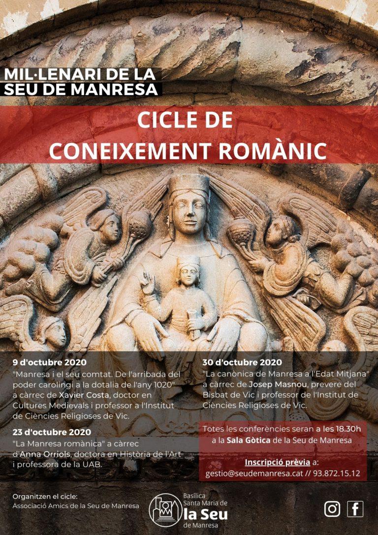 cicle coneixement romànic la Seu de Manresa