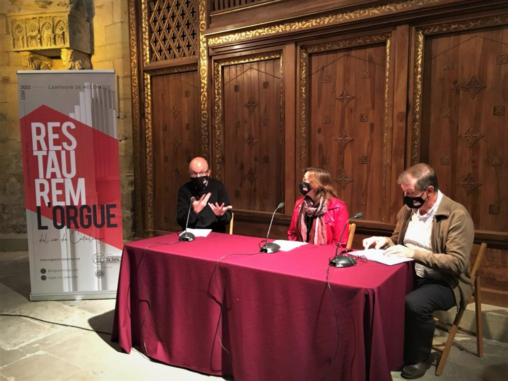 Restaurem l'orgue del cor de Catalunya